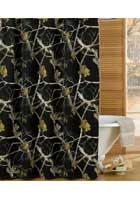 All Purpose Black Shower Curtain