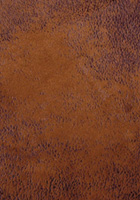 Cognac Faux Leather