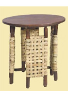 Covered Porch Side Table