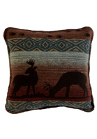 Deer Meadow Wool Pillow