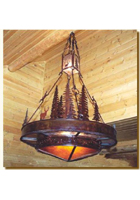 Evergreen Chandelier