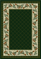 Evergreen Area Rug - Pine