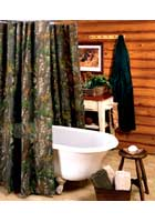 Hardwoods Shower Curtain