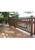 Custom Cedar Railing