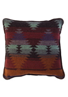 Painted Desert Wool Pillow