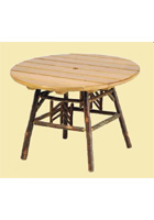 Smoky Mountain Round Dining Table