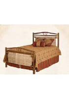 Wagon Wheel Match Bed