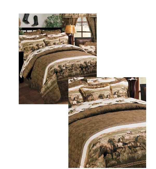 Wild Horses Bedding